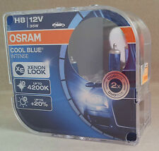 H8 OSRAM Cool Blue Intense PGJ19-1 Lámpara +20% Luz 4200K 64212CBI-HCB
