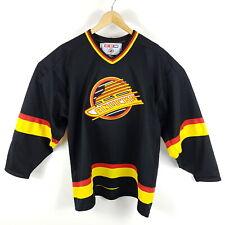 Vintage Vancouver Canucks CCM Trikot Herren XL Flying Skate Logo NHL Jersey