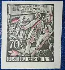 DDR geschnittene Einzelmarke 70Pf aus Block 13 Mi-Nr. 490B postfrisch