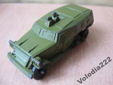 Vintage metal toy soviet car СССР metal model Military equipment USSR. Armored