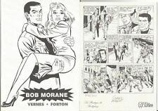 Bob Morane : Forton : Carnet de croquis : 500 Ex N°/S !