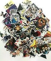 400 Lot DBZ, One Piece, Naruto and My Hero Academia Laptop Wall Luggage Stickers