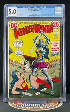 Wonder Woman #204 CGC 5.0 1st Appearance of Nubia 1973
