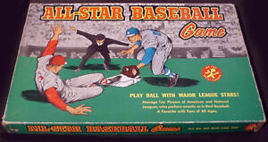 VINTAGE 1961 ALL-STAR BASEBALL GAME #183 COMPLETE w/60 PLAYER DISCS!