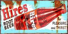 Metal Tin Sign hires root beer  Bar Pub Home Vintage Retro Poster Cafe ART