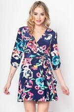 Yumi Kim - Girl Next Door Dress - Floral Print Crepe Dress - Size: Small