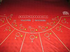 """""""BACCARAT /DRAGON BET LAYOUT VERY RARE JUST IN"""
