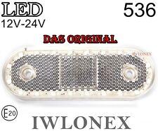 LED Umrissleuchte Markierungsleuchte Positionsleuchte 12V 24V ABE 536