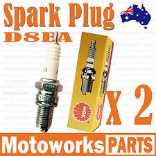 2 x NGK D8EA Spark Plug 200cc 250cc PIT PRO Trail Quad Dirt Bike ATV Buggy 002
