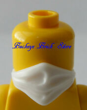 NEW Lego Minifig WHITE FACE SCARF Ninja Cowboy Bandit Minifigure Bandana