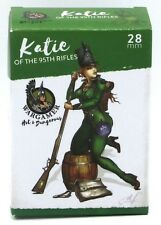 Wargamer HD-28-04 Katie of the 95th Rifles (28mm) Hot & Dangerous Female Pinup