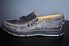 Cole Haan Men's Dark Brown Travel Venetian II Brown Leather Loafers - Size 8.5
