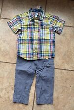 Carters Baby Boy 2 Piece Set Outfit Size 24 Months