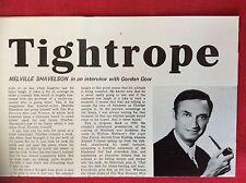 m78a ephemera 1972 film article melville shavelson director writer