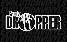 Panty Dropper V2 Decal Vinyl Sticker FCK JDM Euro Drift Lowered Stance Illest