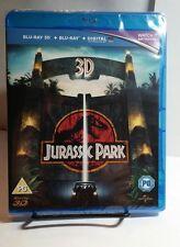 Jurassic Park 1993(3D+Blu-ray Disc,2013,2-Disc Set) NEW-Free S&H - Region Free