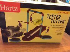 Harts cat teeter totter activity center new