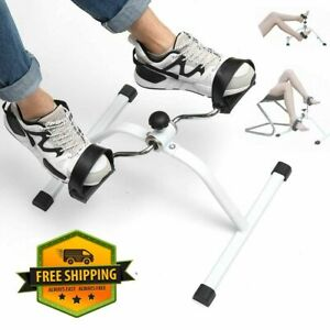 Indoor Cycling Bikes Legs Trainer drive Exercise Portable Arm Peddle Foot Cycle