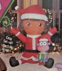 NEW 4 FT LED CHRISTMAS DORA THE EXPLORER AND BOOTS INFLATABLE BY GEMMY