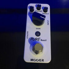 Mooer Pure Boost Electric Guitar Effect Pedal True Bypass Boost Guitar Pedal