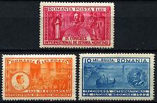 Romania 1932 SG#1262-4, 9th Int. Medical Congress MNH Set #D44066