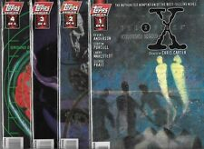 THE X-FILES GROUND ZERO #1-#4 SET (NM-) TOPPS COMICS
