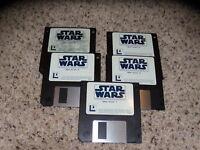 "Star Wars Screen Entertainment IBM 3.5"" floppy disks PC"