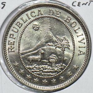Bolivia 1939 50 Centavos 295760 combine shipping