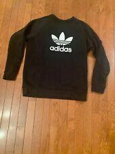 Adidas Men's Trefoil Logo Graphic Long Sleeve Sweatshirt Size M