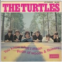 SP 45 TOURS THE TURTLES YOU KNOW WHAT I MEAN en 1967 LONDON 69000