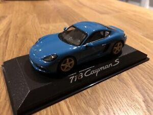 Porsche 718 Cayman S 1:43