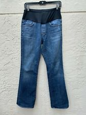 7 SEVEN FOR ALL MANKIND MATERNITY JEANS CUT # 2728 SZ 30x32