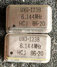 r10 St. Quarzoszillator 6,144 MHz, Metallgehäuse, DIP14