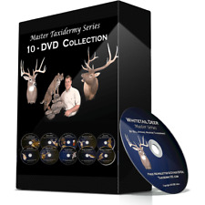 10 Taxidermy Videos on DVD - Big Game, Birds, Fish, Tanning +++ For Beginners