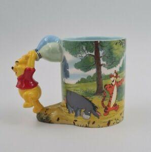 Disney Winnie Pooh Puuh 3D Tasse Disney Mug Zustand Neu Sammlerstück Selten