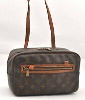Authentic Louis Vuitton Monogram Cite MM Shoulder Bag M51182 LV B1560