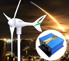 Apollo MAX 550 W AC 24V Magnet Wind Turbine Generator 3 Blade+ Charge Controller