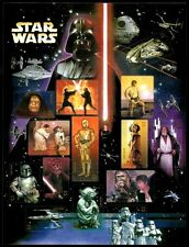 2007 - STAR WARS - #4143 Full Mint -MNH- Sheet of 15 Postage Stamps