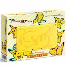 New Nintendo 3DS LL Pikachu [ yellow ]REGION LOCKED (WILL NOT WORK ON USA GAMES)