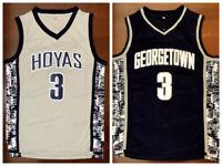 Allen Iverson #3 Georgetown Hoyas College Men Basketball Jersey Stitched S-XXL