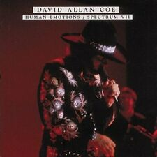 DAVID ALLAN COE - HUMAN EMOTIONS/SPECTRUM VII NEW CD