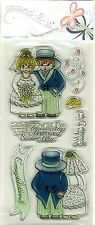 Butterfly Kisses - around-2-it - Clear Stamps - Wedded Bliss - A2C1014