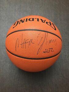 "Magic Johnson Autographed Basketball JSA - Full Name & ""#32"" Inscription - Rare"