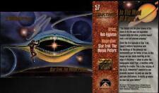 1993 Bob Eggleton SIGNED Star Trek Master Series Art Card Spock & V'Ger