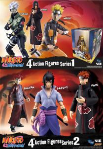 "Naruto Shippuden 4"" Poseable Figures - Kakashi, Gaara, Sasuke or Pain - NEW MIB"