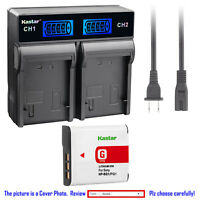 Kastar Battery LCD Rapid Charger for Sony NP-BG1 Sony Cyber-shot DSC-HX5V Camera