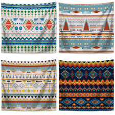 Boho Geometry Texture Tapestry Wall Hanging Blanket Bedspread Background Cloth