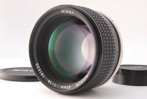 Near MINT/ Nikon Ai-S 85mm F1.4 Lens Film Camera from Japan #0884