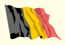 Belgien België Belgique Sticker Fahne Flagge Autoaufkleber Aufkleber