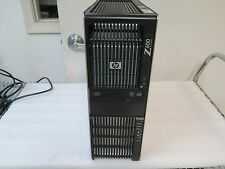 HP Z600 Workstation Dual 2.13GHz Quad Core L5630 12GB RAM 750GB HD DVD